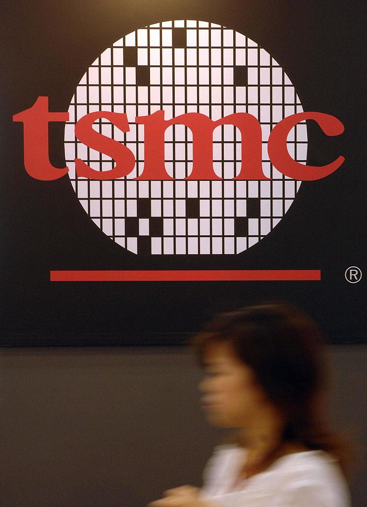 台湾TSMCのロゴ(GettyImages)