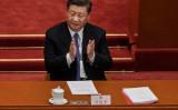 中国の全国人民代表大会(国会相当)は5月28日、香港に国家安全法を導入する提案を採択した(Kevin Frayer/Getty Images)