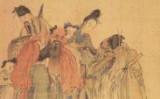 黄慎氏の「八仙人物図」