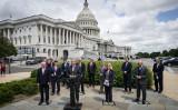 米下院の共和党調査委員会(The Republican Study Committee 、RSC)は6月10日、国家安全戦略報告書を発表し、人権侵害などに関与した中国高官に対して制裁を課すよう求めた(Drew Angerer/Getty Images)