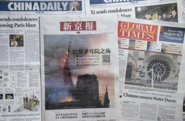 世界に手を伸ばす中国プロパガンダ戦略(GettyImages)
