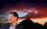 中国清華大学法学院の元教授、許章潤氏(新唐人テレビが合成)
