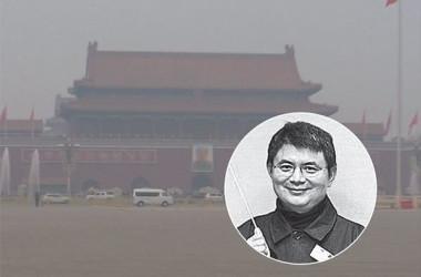 明天集団の創業者、肖建華氏(大紀元が合成)