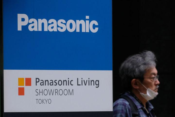 2020年5月、パナソニック東京本社近くで撮影(GettyImages)