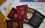 世界各国のパスポート。イメージ写真(AFP/Getty Images)