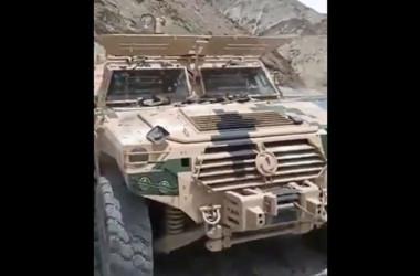 中国で軍用車汚職事件が発生し、高官2人の失脚に繋がった(動画スクリーンショット)