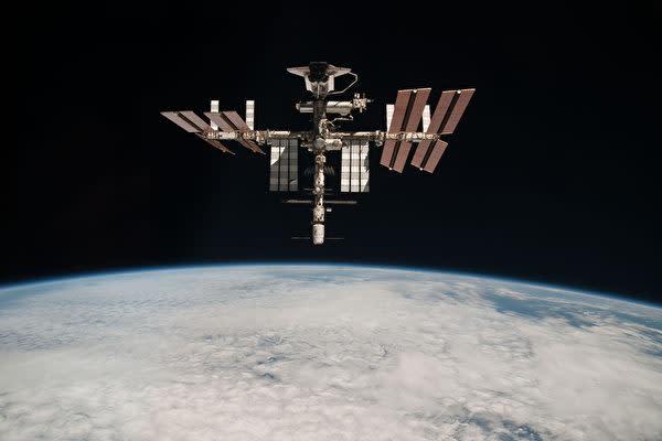 衛星のイメージ写真(Paolo Nespoli – ESA/NASA via Getty Images)