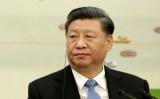 2019年11月22日、中国北京の人民大会堂で、2019年新経済フォーラムの代表団との会合に出席した習近平国家主席 (Jason Lee-Pool/Getty Images)
