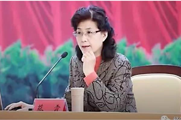 中国共産党の幹部を養成する中央党校の蔡霞元教授は、「中国共産党は実際、非常に脆い」と指摘した(スクリーンショット)
