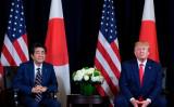 2019年9月、訪米した安倍首相はトランプ米大統領と会談した(GettyImages)