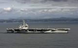 インド太平洋地域に配備されている米海軍の空母セオドア・ルーズベルト(U.S. Navy via Getty Images)