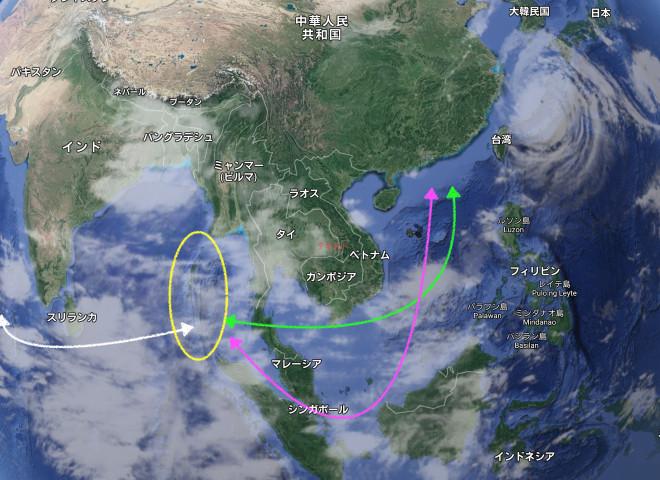 中国、マレー半島切り開く新運河建設案でタイに接近 マラッカ海峡を ...