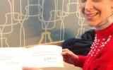 ハンガリー国会議員Szél Bernadett氏は、中国大使館から、同氏が署名運動にサインしたことに対して抗議する書簡を公開した(Szél Bernadettのフェイスブックより)