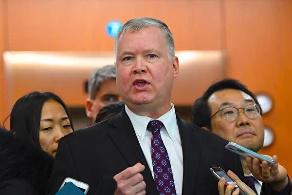 スティーブン・ビーガン(Stephen Biegun)米国務副長官(JUNG YEON-JE/AFP/Getty Images)