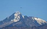 複数のインドメディアは、中国が実効支配線付近へ軍備増強したことを伝えた。写真は9月2日、ヒマラヤ山脈上空を飛行するインドの戦闘機(GettyImages)