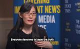米国に亡命した中国の女性ウイルス研究者、閆麗夢博士(大紀元英語版より)