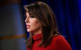 米国務省のモーガン・オータガス(Morgan Ortagus)報道官(Getty Images)