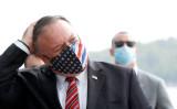マイク・ポンペオ米国務長官は、10月6日に東京で開かれる2回目となる日米豪印戦略対話(通称クアッド・QUAD)外相会に出席する。写真は10月2日、クロアチア訪問時に撮影(GettyImages)