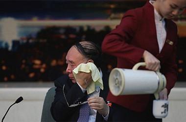 中国全国人民代表大会(国会に相当)財政経済委員会の黄奇帆・副主任(Getty Images)