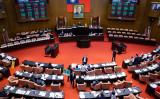 台湾立法院は10月6日、国民党が提出した米国との国交回復を促す議案を可決した(大紀元資料室)