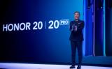 華為技術は自社ブランド、オナー(HONOR)を売却する交渉を行なっていると報じられた。写真は2019年5月、オナーの新シリーズを宣伝発表する同ブランド代表George Zhao氏(GettyImages)