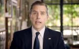 2020年8月20日、オンラインの民主党全国大会で演説する民主党大統領候補ジョー・バイデン氏の息子、ハンター・バイデン氏 (DNCC via Getty Images)