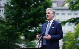 写真はロバート・オブライエン米大統領補佐官(国家安全保障担当)(MANDEL NGAN/AFP)