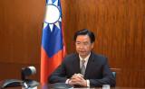 10月21日、インドメディア「Zee News 」放送局傘下の国際チャンネル「WION」は、中華民国(台湾)の吳釗燮外相にインタビューを行った(台湾外務省が提供)