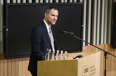 チェコの首都プラハのズデニェク・フジブ市長( ATTILA KISBENEDEK/AFP via Getty Images)