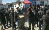 中国天津市ではこのほど新たに中共ウイルス感染者2人が確認されたため、市政府は8日「戦時状態」と宣言した。写真は市内のPCR検査実施現場(情報提供者より)