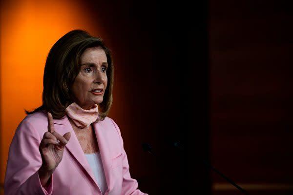 ナンシー・ペロシ米下院議長(ANDREW CABALLERO-REYNOLDS/AFP via Getty Images)