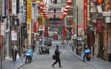 メルボルンの中国人街、2020年8月撮影(WILLIAM WEST/AFP via Getty Images))