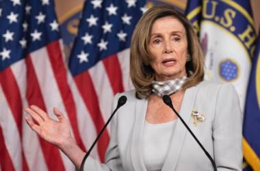 ナンシー・ペロシ下院議長(Jim Watson/AFP via Getty Images)