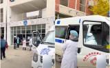 四川省は12月8日、中共ウイルスの感染者急増で戦時状態を宣言した。ネット上では、成都理工大学の学生寮に救急車が入った映像が投稿された(スクリーンショット)