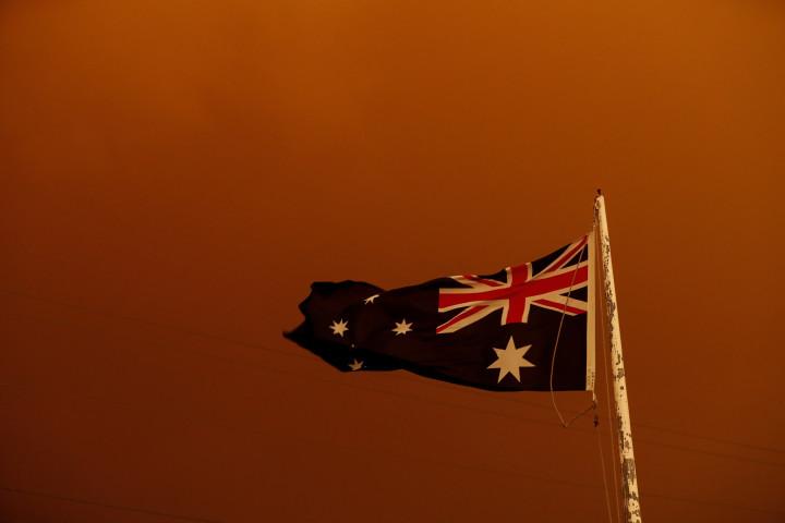 オーストラリア国旗 (Darrian Traynor/Getty Images)