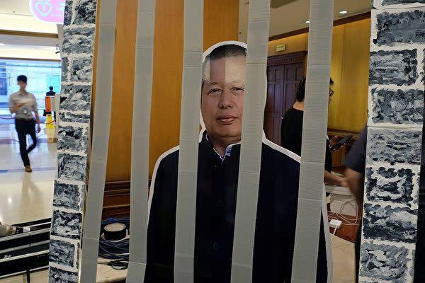 中国の人権派弁護士である高智晟氏は、2017年に当局に拘束されて以降、消息不明となった( SAM YEH/AFP via Getty Images)