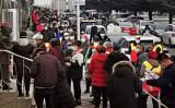 2020年12月22日、遼寧省大連市当局は大規模なPCR検査を実施し始めた(STR/AFP via Getty Images)