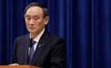 総理官邸で記者会見を開く菅義偉首相(Pool/GettyImages)