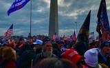 2021年1月6日、米ワシントンDCに大勢のトランプ支持者が集まった(取材対象者より)