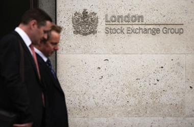 英ロンドン証券取引所((Oli Scarff/Getty Images)