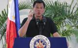 フィリピンのドゥテルテ大統領(MANMAN DEJETO/AFP via Getty Images)