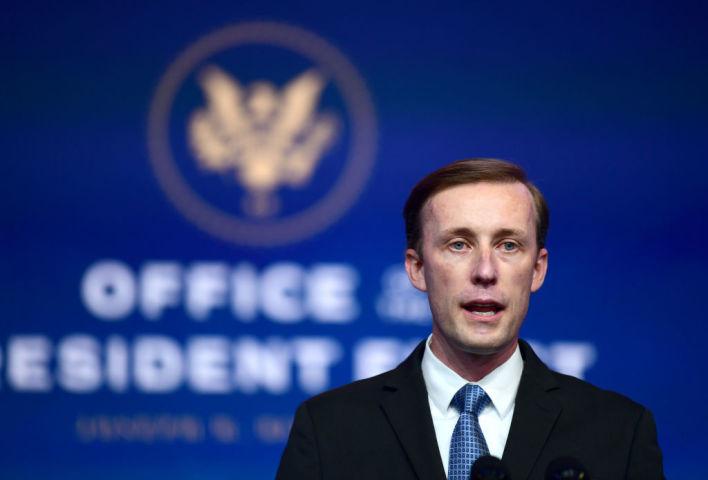 米バイデン政権の国家安全保障担当大統領補佐官ジェイク・サリバン氏(Mark Makela/Getty Images)