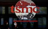台湾新竹市にある世界最大の半導体ファウンドリー台湾積体電路製造(TSMC)の社屋(SAM YEH/AFP via Getty Images)