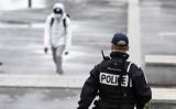 パトロールを行うフランス警察(ALAIN JOCARD/AFP via Getty Images)