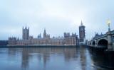 英国議会の写真、2020年12月撮影 (Niklas Halle'n/AFP/Getty Images)