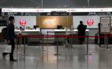 入国は完全に禁止されたわけではない。写真は関西国際空港(Photo by Buddhika Weerasinghe/Getty Images)