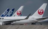 羽田空港で撮影されたANAとJALの航空機、参考写真(Photo by Carl Court/Getty Images)