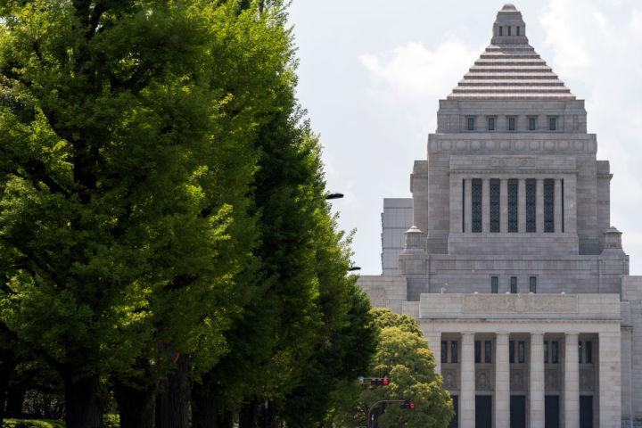 「人権外交を超党派で考える議員連盟」の会合が国会内で行われた。写真はイメージ(Photo by Tomohiro Ohsumi/Getty Images)