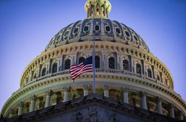 2021年2月23日、米議会議事堂(Al Drago/Getty Images)