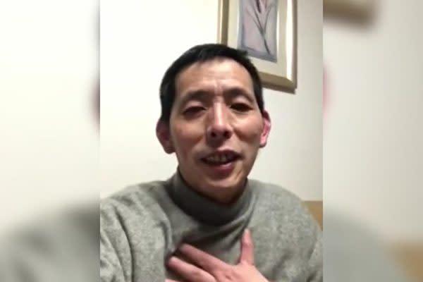 2020年2月1日に中国武漢市第五医院の内部を撮影した市民ジャーナリストの方斌氏(スクリーンショット)